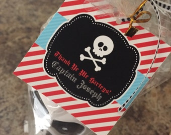 SKULL favor tags - YOU PRINT