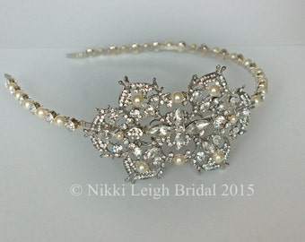 Vintage Bridal Side Tiara