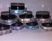 Organic Cosmetics 4pc EYE SHADOW SET UPick your own shades Beauty Minerals Vegan All Natural Vegan
