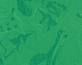 Carkai The Jumble in Fern, Carolyn Friedlander, Robert Kaufman Fabrics, 100% Cotton Fabric, AFR-15792-30 FERN