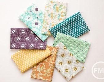 Succulence Fat Quarter Bundle, 8 Pieces, Bonnie Christine, Art Gallery Fabrics, 100% Cotton Fabric, SCC