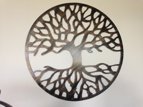 Tree Of Life Antique Look Wall Decor Metal Art New