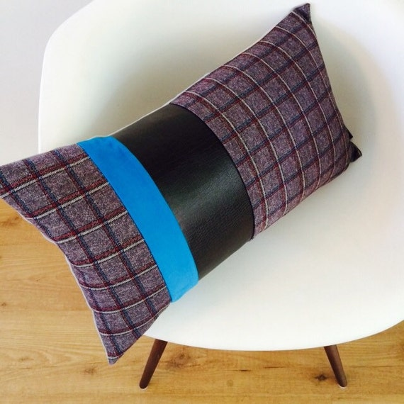 Mid Century Lumbar Pillow : Mid Century Pillow Cover 14x24 Lumbar Cushion