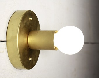Wall sconce - Brass lamp