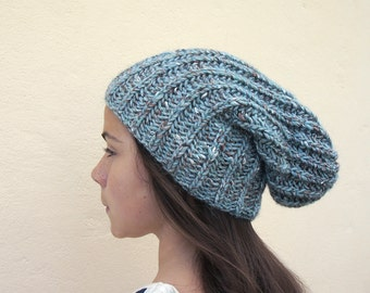 handmade knitted hat for women and teen