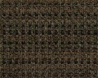 Woven Soft Striped Chenille Upholstery Fabric - Economical, Durable, Easy Clean - Color: Gable Mink - Per yard