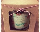 "Scented Soy Candle - 10oz Jar Choose Scent ""You is Kind, You is Smart, You is Important."" Quote from Movie - The Help"