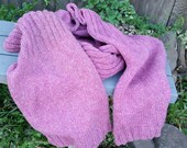 Knit Blanket Scarf #3