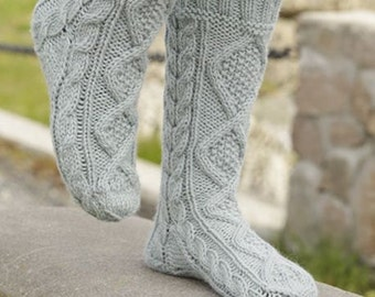 NEW ITEM! Knitted socks nice and warm