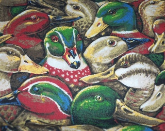 Ducks Ducks and More Ducks Fabric New By The Fat Quarter BTFQ