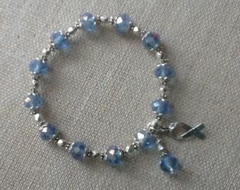 117 Esophageal/Prostate/Stomach Cancer Awareness Bracelet