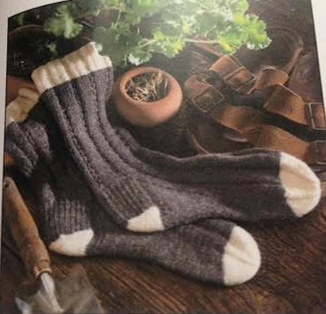 Knitting Vintage Socks Nancy Bush : Knitters gift socks folk nancy bush yarn crafts uk brand