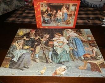 1940's Fairco Puzzle -Grandfather's Alibi-made in Rochester NY