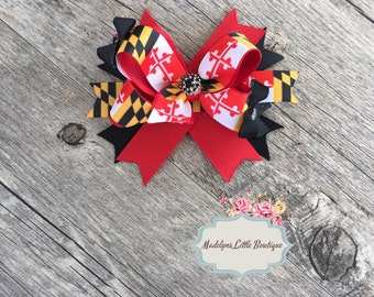 Maryland Flag Bow