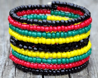The Rasta Wrap Bracelet
