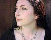The Kelpie Garland Necklace.  Everyday Delicate Mermaid Necklace