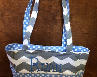 Personalized Small Diaper Bag