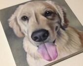 CUSTOM Pet Portrait, Pet Painting, Pet Portrait, Animal Portrait, Custom Portrait, Dog Portrait, Dog Painting, Special Gift, Christmas Gift