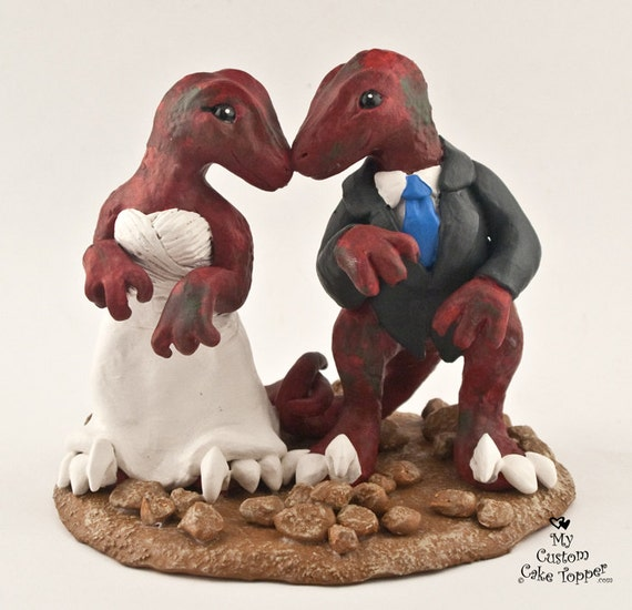 dinosaur wedding cake raptors dinosaur wedding cake topper realistic dino 13530