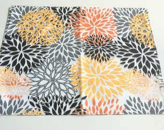 Clearance,3 Placemats, Fall decor