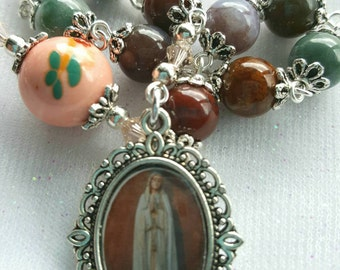 Our Lady of Fatima Rosary - One Decade Rosary - Our Lady of Fatima Pocket Rosary