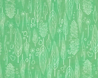 Nature Walk Grass Fabric