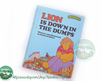 Vintage Sweet Pickles Book: Lion is Down in the Dumps