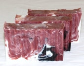 SALE Rosewood and Musk Goat Milk Detox Soap with Cupuacu Butter