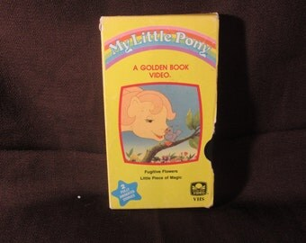 My Little Pony - Fugitive Flowers and Little Piece of Magic - VHS