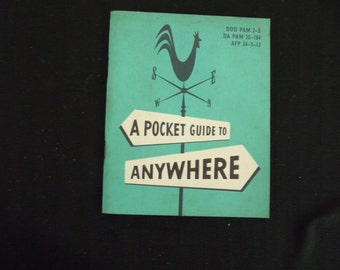 A Pocket Guide to Anywhere - Office of Armed Forces (1956)