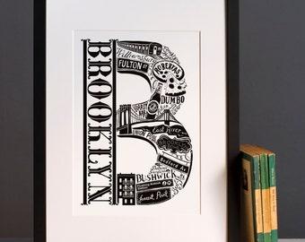 Brooklyn New York print