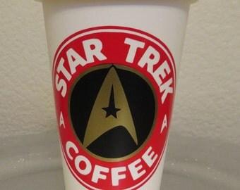 Star Trek...Starfleet Captain Tumbler