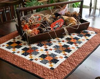 REDUCED!  Pumpkin Patch Petite Quilt