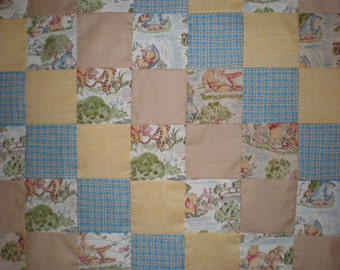 Winnie The Pooh Patchwork  Quilt
