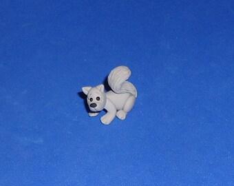 Polymer Clay Squirrel