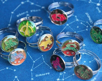 Zodiac Mood Ring