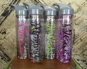 Custom Confetti Glitter Water Bottle