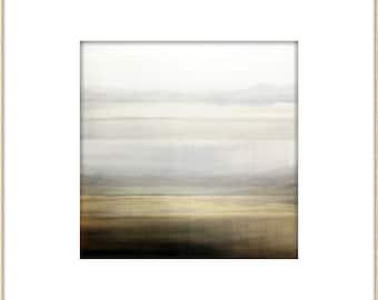 Abstract Minimal Landscape, Modern Wall Art, Contemporary Art Print, Minimal Home Decor, Neutral Colors, Zen Interior Design Print Collage