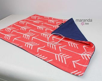 Extra Large Changing Mat Pad-TO MATCh Your Bag-  Padded Mat Blanket Burp Cloth Baby Shower Gift Diaper Bag Accessories