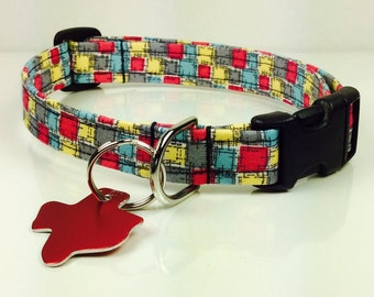 Bricks - Dog Collar - Adjustable