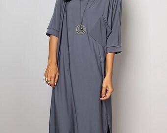 Grey Dress - Gray Mid Length Dress : Street Soul Collection No.1