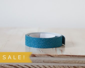 Blue Glitter Tape - SALE!