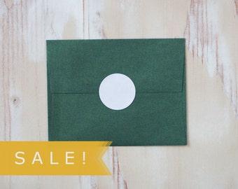 "White Large Circle Stickers - 48 pc - 1.5"" - SALE!"