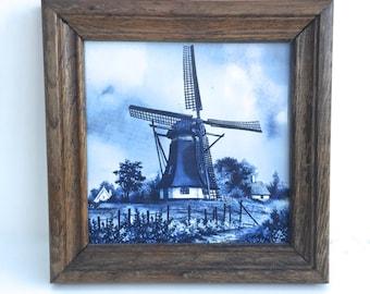 Vintage Delft Dutch Tile