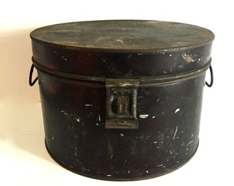 Antique bread / dry cereal Tin