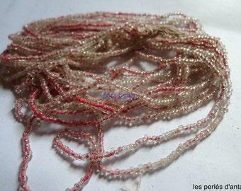 vintage tubes beads  7/0