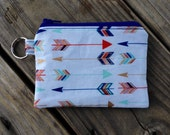 Zipper Coin Purse / Coin Pouch