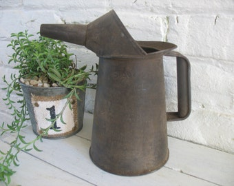 Vintage Savory 1 Qt. Oil Can