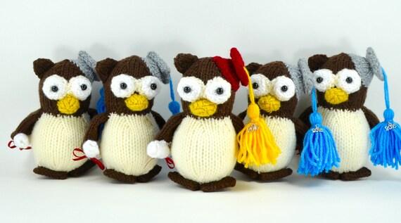 Gus the Graduation Owl - Plush Cuddly Stuffed Animal
