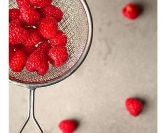 Raspberries // Food Photography // Kitchen Decor
